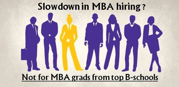 Slowdown in MBA hiring? Not for MBA grads from top B-schools
