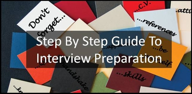 Step By Step Guide to interview preparation