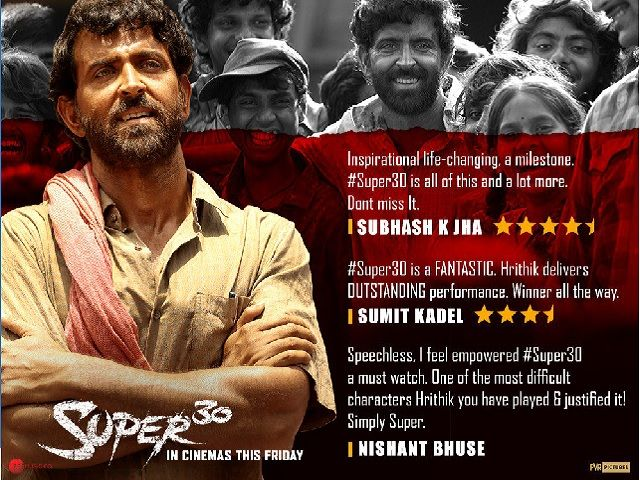 Super 30 Movie Review Hunger For Success Hard Work Positivity Patience 4 Takeaways