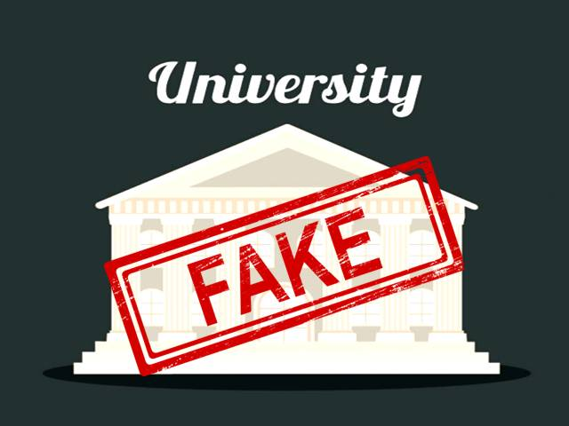 List of fake universities in india