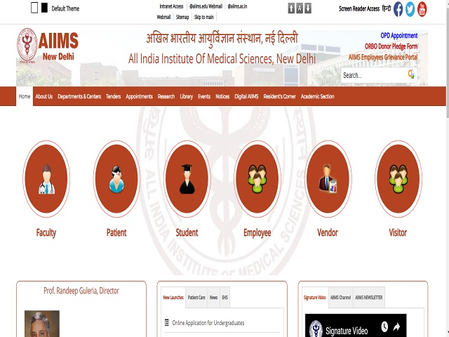 AIIMS Delhi Lab Technician and Senior Research Fellow Posts 2019