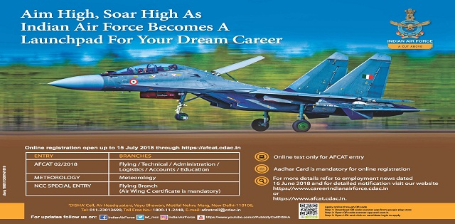 branches of indian air force