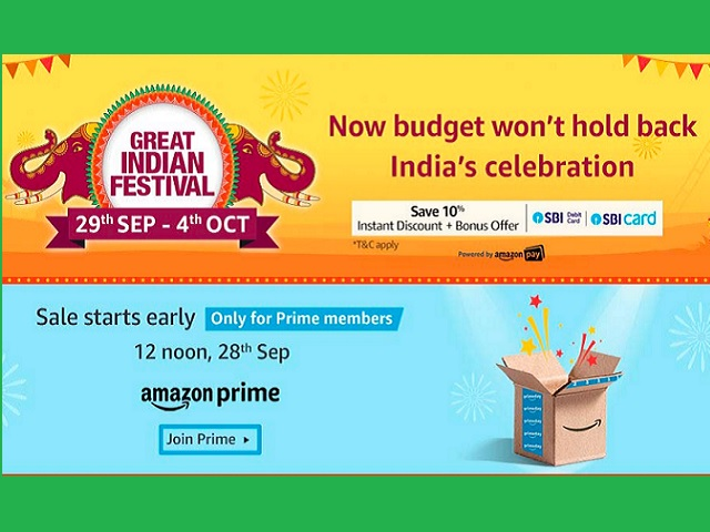 Amazon Great Indian Festival Sale 2019: Dates, New Launches ...
