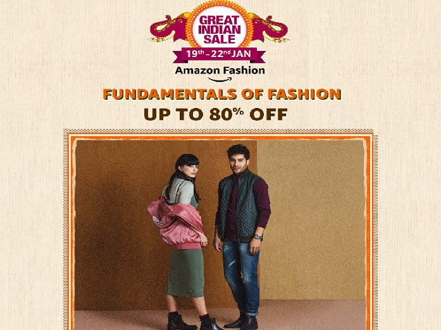 Amazon Great Indian Sale 2020 Get Up To 80 Off On Amazon Fashion