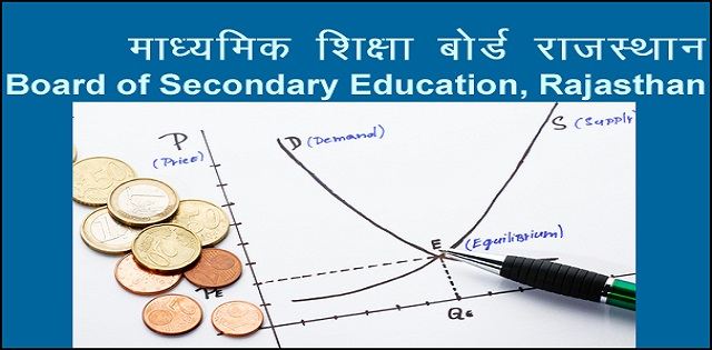 model test paper for Rajasthan Board Class 12 Economics