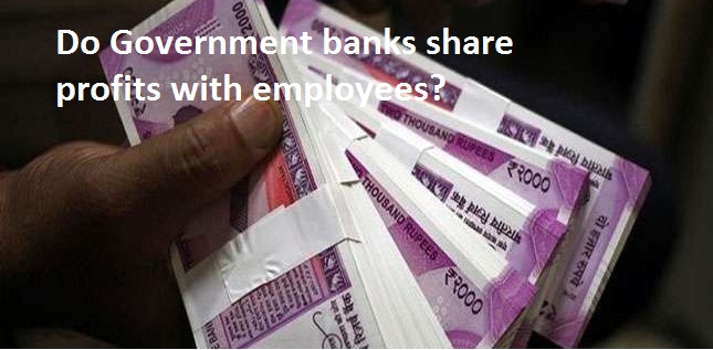 Do Government Banks Share Profits with Employees?