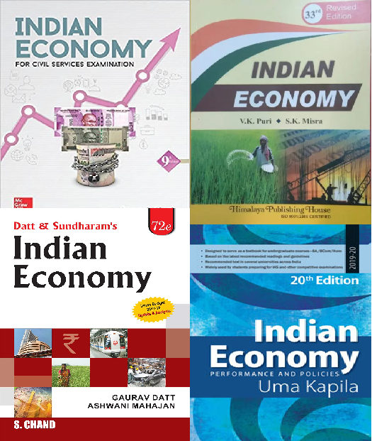 Best books of Indian Economy
