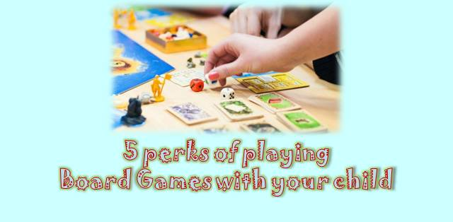 Board Games with child