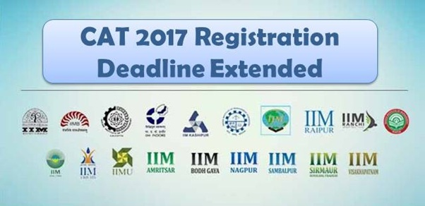 CAT 2017 Registration deadline until 25th Sept