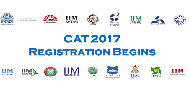 CAT 2017 REGISTRATION