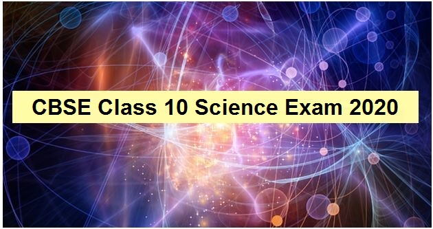 CBSE 10th Science Exam 2020: Important questions & answers