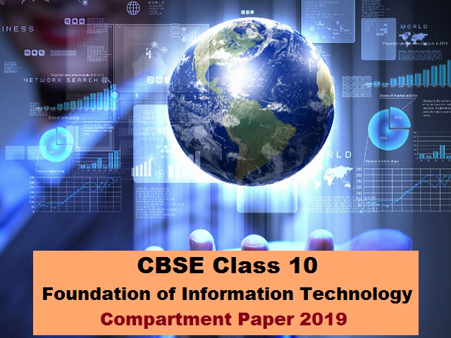 CBSE Class 10 FIT Compartment Question Paper 2019