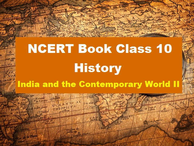 NCERT Book for Class 10 Social Science History