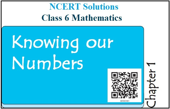 NCERT Solutions Class 6 Maths Chapter 1 Knowing Our Numbers PDF