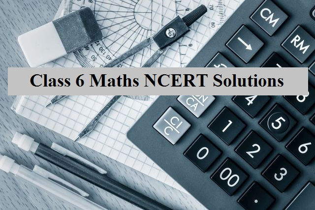 NCERT Book for Class 6 Maths