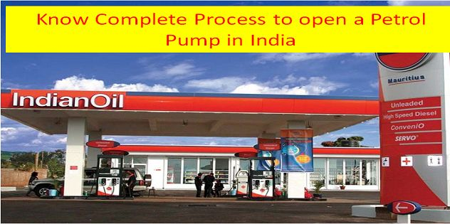 What is the complete process to open a petrol pump in India?