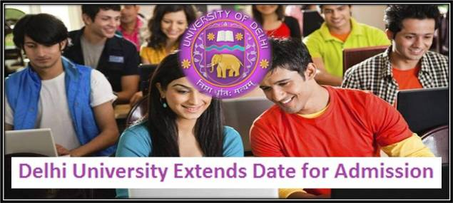 Delhi University extends date for admission