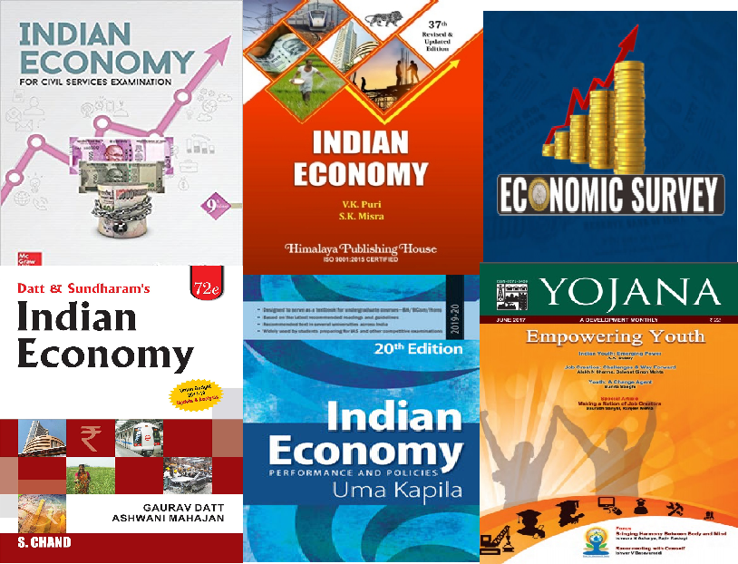 Indian Economy Books for UPSC