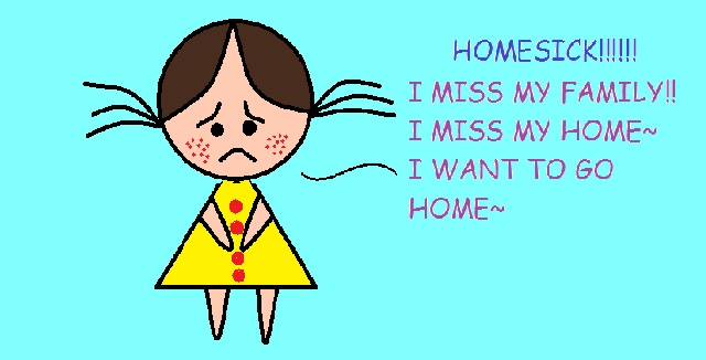 Best ways to deal with your homesick child