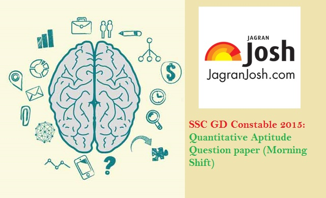 ssc constable aptitude paper
