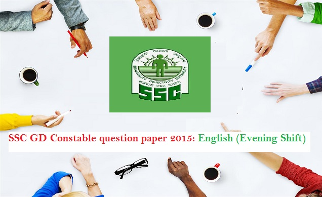 ssc constable english paper