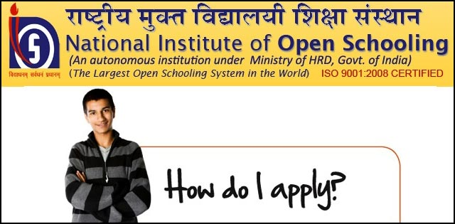 NIOS admission procedure