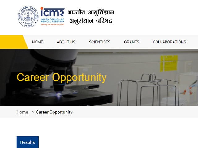 ICMR NICPR Recruitment 2020