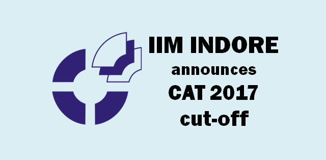 IIM INODRE CAT 2017 CUT-OFF