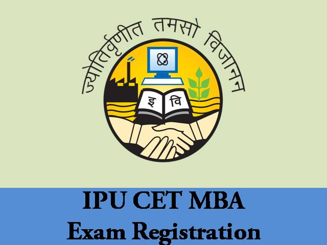 ipu cet mba exam registration