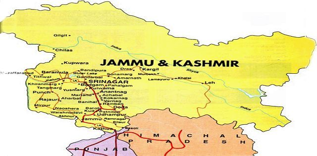 Jammu & Kashmir of India