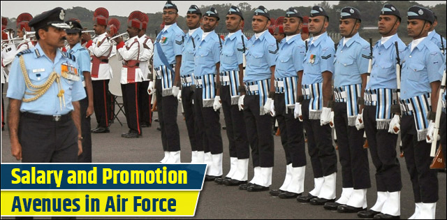 Salary and Promotions of Air Force Officers