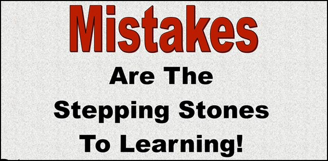 Image result for learning from your mistakes