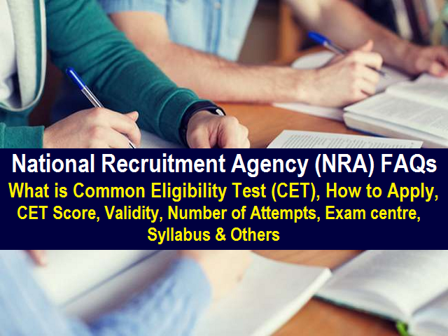 National Recruitment Agency FAQs