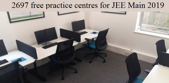 Practice centres for JEE Main 2019