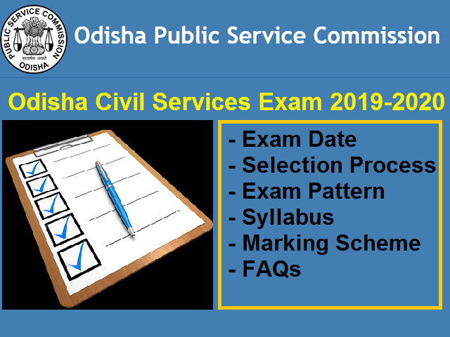 Odisha Civil Services Recruitment 2020