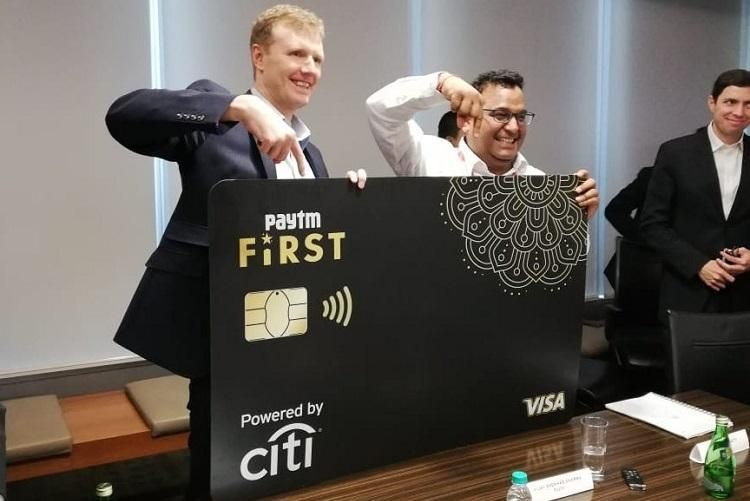 Paytm Credit Card Launched