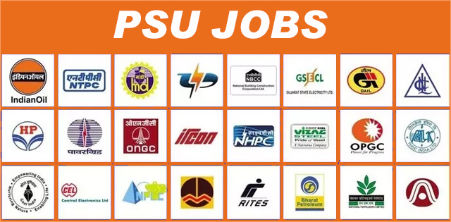 Latest PSU Jobs With & Without GATE Score