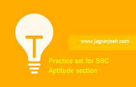 SSC Aptitude questions