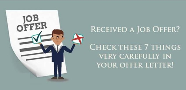 7 aspects you must check very carefully in Job Offer Letter