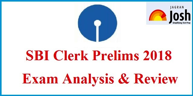 SBI Clerk Prelims Exam Analysis: 23 June 2018, All Slots