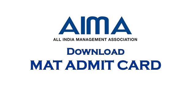 MAT ADMIT CARD DOWNLOAD