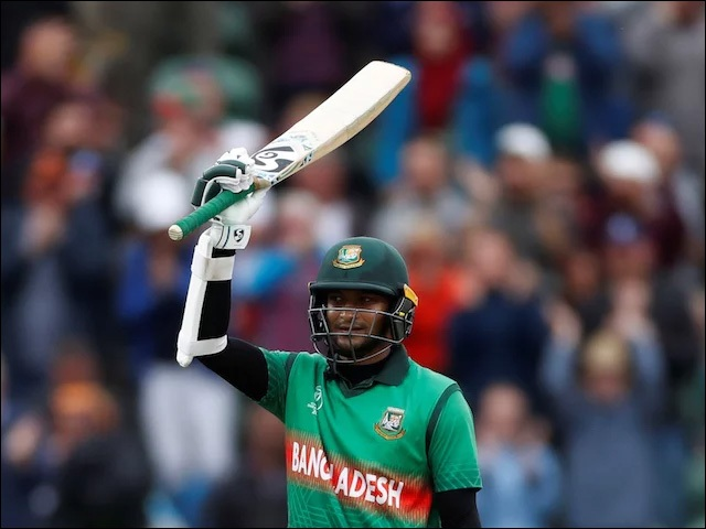 Shakib Al Hasan Sets Unique Record in the World Cup 2019 Match against India