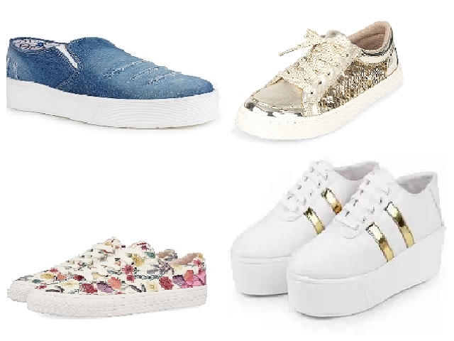 Best 5 stylish and trendy Sneakers for Girls under Rs. 1000
