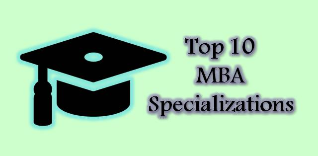 Top 10 MBA Specializations