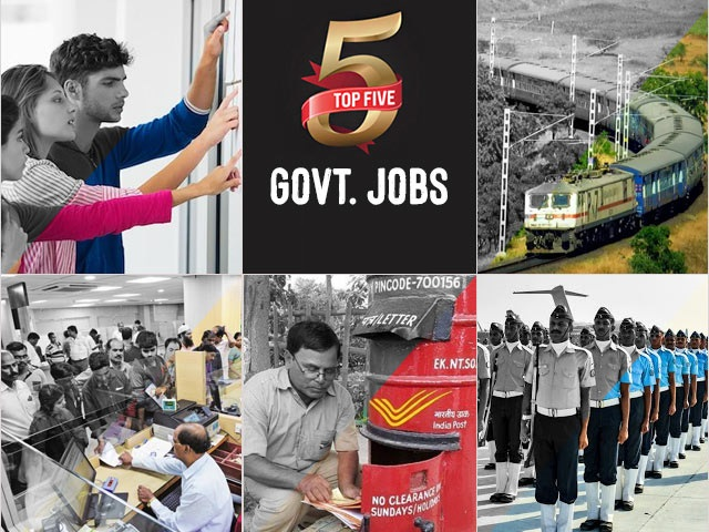 Top 5 Govt. Jobs of the Day–21 October 2020