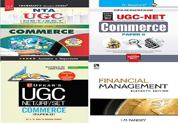 Best books of Commerce for UGC
