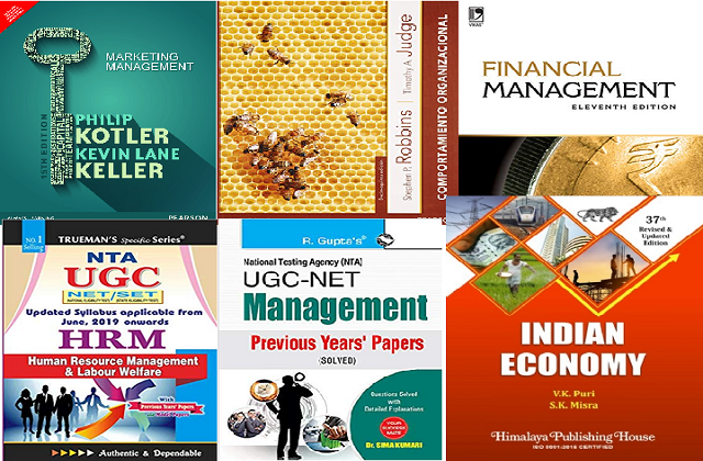 Best books of Management for UGC
