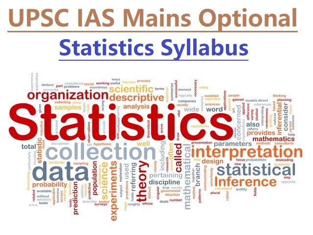 UPSC IAS Mains 2020: Syllabus for Statistics Optional Papers