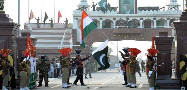 wagah border:Flag Lowering Ceremony