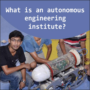 What is an autonomous engineering institute